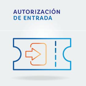 Autorización de entrada